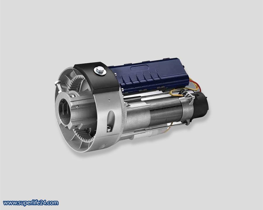 معرفی انواع موتور کرکره برقی - مزایای موتور ساید برقی